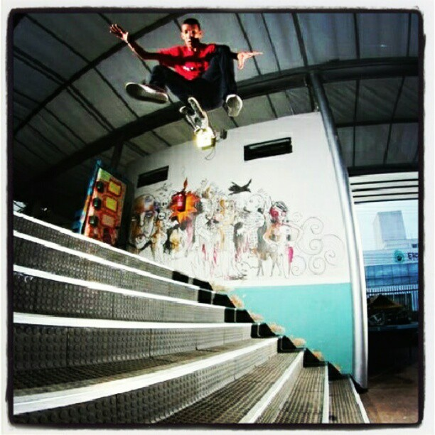 Skateboard Hardflip - Follow @fbskate on Instagram !! Go Skate !!