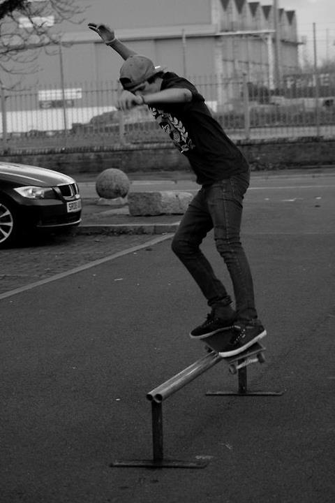 Skateboard Bs Feeble