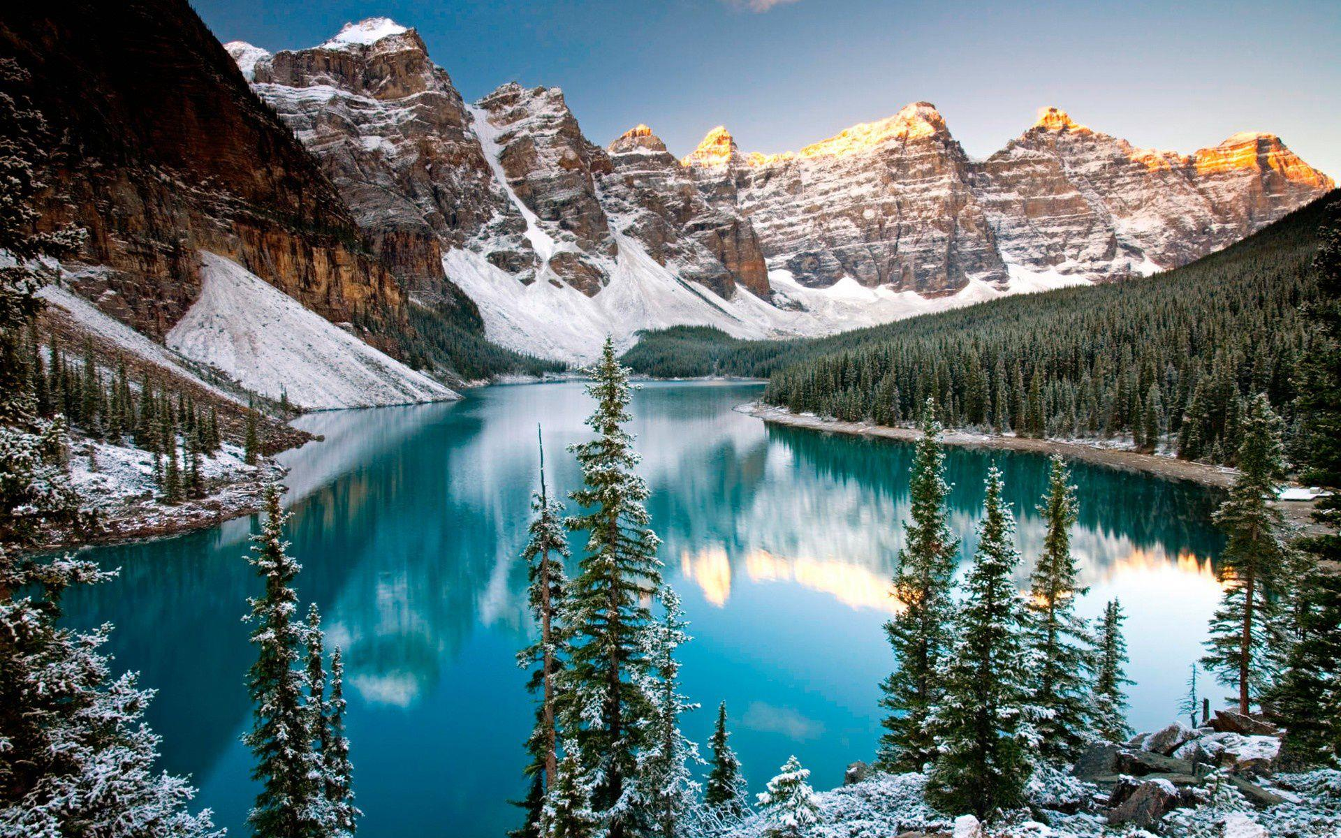Camp and Hike Valley of the Ten Peaks.