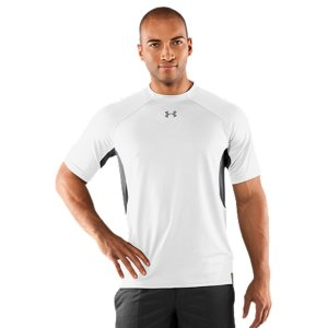 Entertainment Lightweight fabric made from recycled plastic bottles, subtly textured for a mix of durability and breathabilityUnderarm panels strategically allow warm air and moisture to escape Signature Moisture Transport System wicks sweat away from the body, keeping you cooler and drierAnti-odor technology prevents the growth of odor causing microbes, keeping your gear fresher, longerRaglan sleeve construction and smooth flatlock seams allow a full range of motion without chafingBody: Recycled PolyesterPanels: Recycled Polyester/PolyesterImported - $33.99