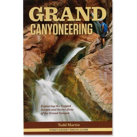 Climbing Grand Canyoneering helps you explore the rugged gorges, secret slots and off-the-beaten-path gems of Grand Canyon National Park. - $29.95