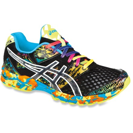Fitness The men's ASICS Gel-Noosa Tri 8 road-running shoes are optimized for raceday performance, offering breathability, drainage and fast transitions to racers. - $64.83
