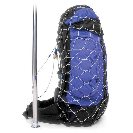 Camp and Hike Deter theft and secure your luggage with this steel web of protection. - $89.95