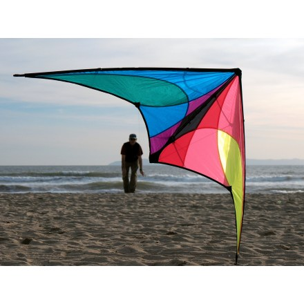 Camp and Hike The Prism Designs Jazz Kite is the answer for beginners to intermediates seeking big thrills from a forgiving and affordable entry-level kite! - $29.93