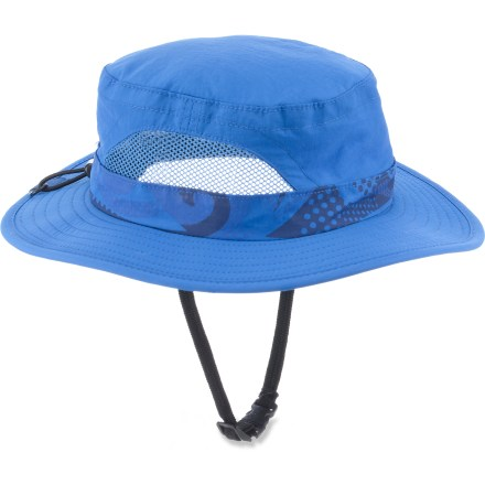 The REI Paddlers hat makes toddlers ready for a sunny day on the water. It's just the ticket to protect your youngster's face and neck from the sun's powerful rays. - $4.83