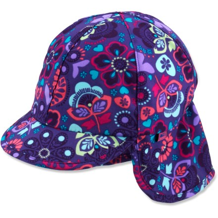 The full-coverage REI Flap hat helps protect baby's head from the sun's harmful rays. - $3.83