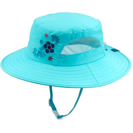 The REI Paddler hat for girls is always ready for a sunny day on the water. It is just the ticket to protect your youngster's face and neck from the sun's powerful rays. - $11.83
