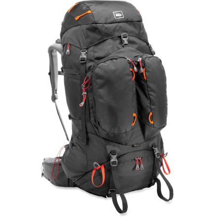 Camp and Hike This updated pack delivers comfort, performance and user-friendly features in a size that accommodates everything from 10-day wilderness expeditions to weekend jaunts requiring extra gear. - $143.93