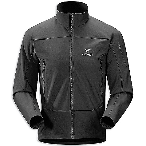 On Sale. Free Shipping. Arcteryx Men's Gamma LT Jacket DECENT FEATURES of the Arcteryx Men's Gamma LT Jacket Burly Double Weave is durable, moisture and wind-resistant fabric with 4-way stretch Full length Vislon front zipper with wind flap Hand pockets, inside chest pocket Stretch gusset cuffs hem drawcord The SPECS Weight: M: 18 oz / 515 g Fit: Athletic, hip length Fabric: Burly Double Weave - 46% nylon, 46% polyester, 8% spandex This product can only be shipped within the United States. Please don't hate us. - $159.99
