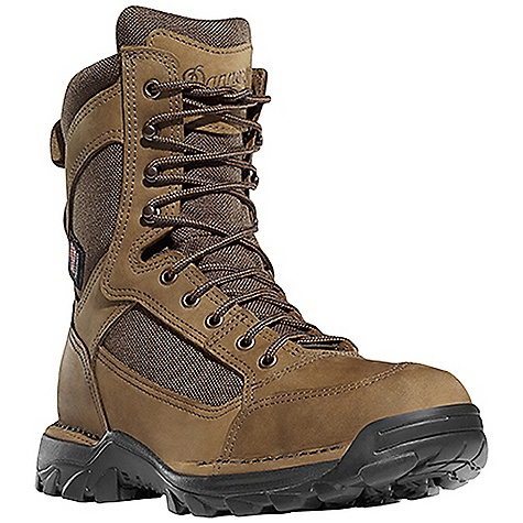 Hunting Free Shipping. Danner Men's Ridgemaster Boot DECENT FEATURES of the Danner Men's Ridgemaster Boot Durable, nubuc leather upper with rugged and lightweight 1000 Denier nylon Available with Thinsulate Ultra Insulation Leather toe and heel wrap for abrasion resistance Speed lace fastening system for secure fit Rugged hardware for secure fit and long lasting performance 100% waterproof and breathable Gore-Tex lining Cushioning polyurethane footbed with additional layer of open cell construction for air circulation Lightweight and stable performance of Danner's Terra Force platform Danner/Vibram Rivot TFX outsole for superior grip and mobility featuring 360deg lug pattern for increased pivotal movements The SPECS Weight: 55 oz Height: 8in. Last: 851 Lining: Gore-Tex Shank: Fiberglass - $289.95