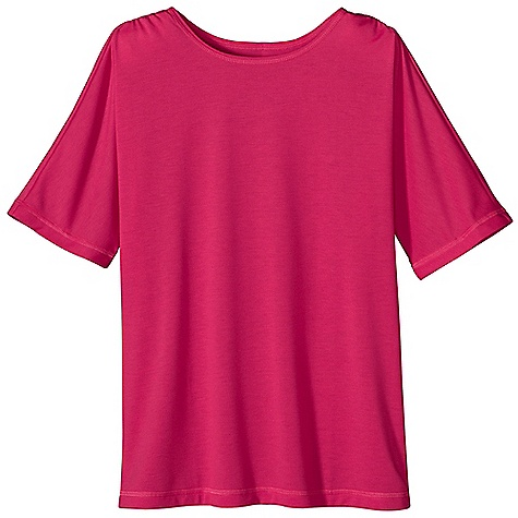 Patagonia Girl's Polarized Tee DECENT FEATURES of the Patagonia Girls' Polarized Tee Made of super comfortable polyester jersey fabric with 20-UPF sun protection Flattering, mini-boatneck opening with ruched shoulder construction and 1/2-sleeve length Straight hem The SPECS Regular fit Weight: 3.7 oz / 105 g 4.8-oz 100% polyester jersey with 20-UPF sun protection This product can only be shipped within the United States. Please don't hate us. - $29.00