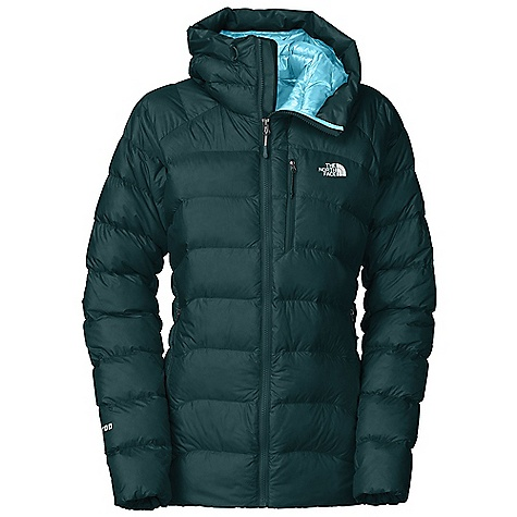 Ski On Sale. Free Shipping. The North Face Women's Hooded Elysium Jacket DECENT FEATURES of The North Face Women's Hooded Elysium Jacket 800 fill Eastern European goose down, provides reliable warmth and loft Articulated scuba-style hood is close fitting and provides an unobstructed view Sleek, lightweight pre-cinched cuffs provide a simple, warm seal against the cold Zippered hand warmer and chest pocket Interior utility pockets sized for water bottles The SPECS Average Weight: 15 oz / 425 g Center Back Length: 28in. Body: 20D nylon ripstop Insulation: 800 fill Eastern European goose down This product can only be shipped within the United States. Please don't hate us. - $223.99