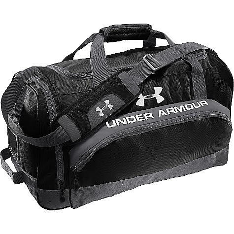 Fitness Free Shipping. Under Armour Men's PTH Victory Team Duffel Large DECENT FEATURES of the Under Armour Men's PTH Victory Team Duffel Large Large Main-Zip Compartment with Additional Storage in Side Pockets Hanging Tricot Lined Media Valuables Pocket Keeps Your Gear Safe Custom Identification Card Holder Adjustable, Padded Shoulder Strap and Carry Handle Mesh Ventilation for Breath ability The SPECS Dimension: 29.5 x 14 x 13in. Volume: 5500 cubic inches - $54.95