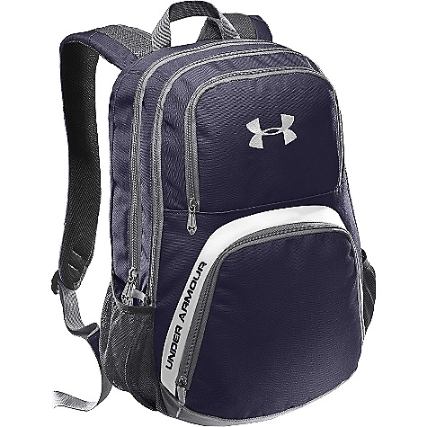 Fitness Free Shipping. Under Armour Men's PTH Victory Sackpack DECENT FEATURES of the Under Armour Men's PTH Victory Sackpack Internal Laptop Sleeve Large Backpack with Zip-Closed Main Compartment Laundry Shoe Pocket Tricot Lined Media Valuables Pocket Side Water Bottle Pockets Adjustable, Padded Shoulder Straps The SPECS Dimension: 18 x 12.75 x 9.25in. Volume: 2100 cubic inches Polyester, Nylon - $54.95