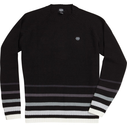 Camp and Hike Your rusty van gets cold in the middle of the night while you're parked in the resort parking lot, so slip on the 686 Fade Knit Sweater before you zip up your duct-taped sleeping bag. - $24.50
