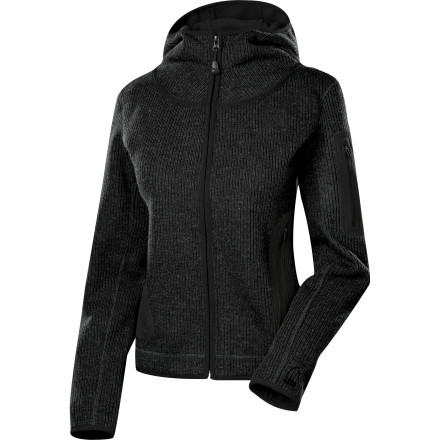 Entertainment You love everything about zip-up hoodies, except for the fact that they're usually made from sub-par materials. Lucky for you, Sierra Designs decided to thwart the status quo and make the Women's Instigator Hoodie Fleece Jacket. The performance polyester fleece has the look of ribbed wool, is soft against skin, and keeps you warm on chilly evenings. - $41.69