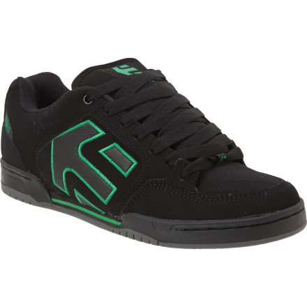 Skateboard The etnies Charter Skate Shoe is constructed using the super-cushioned yet supportive STI level 2 footbed, a resilient, tried and true cupsole, and more skateboarding heritage than you can shake a stick at. - $55.96