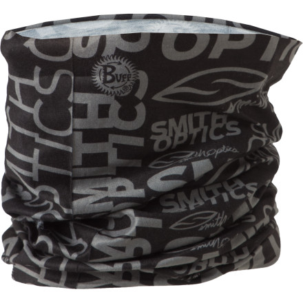Ski Whether you wear it on your head, around your neck, or wrapped around some other extremity that requires a touch of extra warmth, the Smith Tube UV Buff is an essential travel and ski piece. CoolMax fabric wicks sweat to keep you comfortable and provides excellent UV protection for those sunny days on the hill. - $18.17