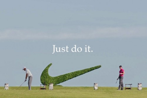 Golf No Cup is safe. Rory Mcllroy & Tiger Woods in new Nike Ad by Wieden + Kennedy