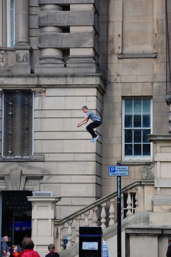 Parkour street photography. liverpool. 