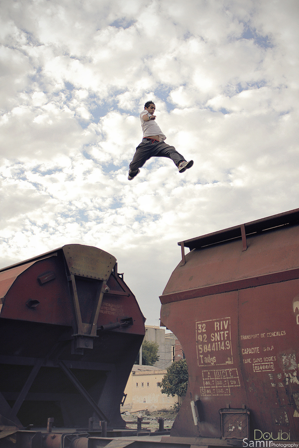 Parkour The sky is not the limit