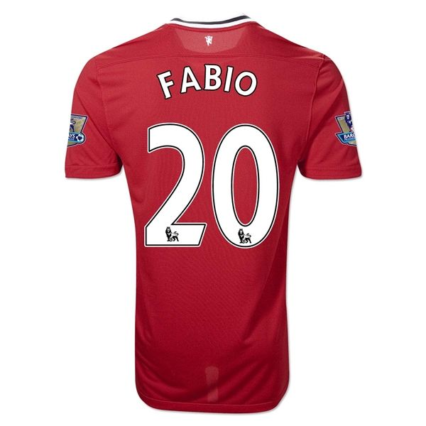 Entertainment Youth FABIO Manchester United Home Soccer Jersey 2011/2012