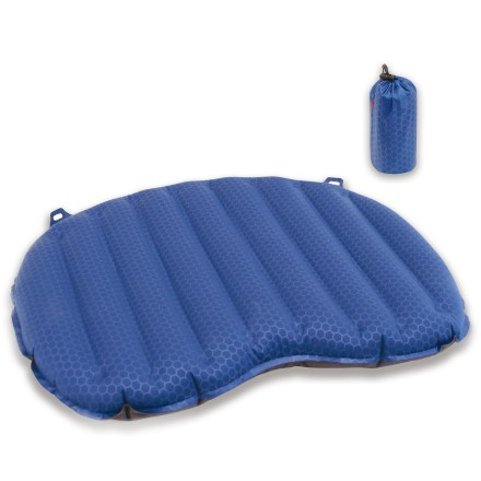 Camp and Hike The portable and packable Exped Air Seat sit pad provides cushion for your derriere when you're on the trail, at sporting events, or at an outdoor concert. - $34.93