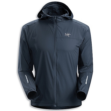 Free Shipping. Arcteryx Men's Incendo Hoody DECENT FEATURES of the Arcteryx Men's Incendo Hoody Wind-resistant, moisture repellent fabric open mesh underarm panels add ventilation Small fitted hood Zippered security pocket with media pocket and MP3 cord passage Reflective blades on sleeves and back Stows inside its own pocket on hip We are not able to ship Arcteryx products outside the US because of that other thing. We are not able to ship Arcteryx products outside the US because of that other thing. We are not able to ship Arcteryx products outside the US because of that other thing. The SPECS Weight: M: 4.1 oz / 138 g Fit: Trim Luminara - 100% nylon, Mesh - 100% polyester This product can only be shipped within the United States. Please don't hate us. - $148.95