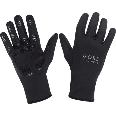 Fitness If you're not looking for anything fancy, but just a simple, straightforward glove that gets the job done, then you're looking for the Gore Bike Wear Universal Glove. A stretchy nylon-elastane blend glove offers warmth and protection, while silicone pads on the fingers and palm give you a better grip. What more do you need' Oh yeah, how about a reflective logo for better visibility' Done. - $23.96