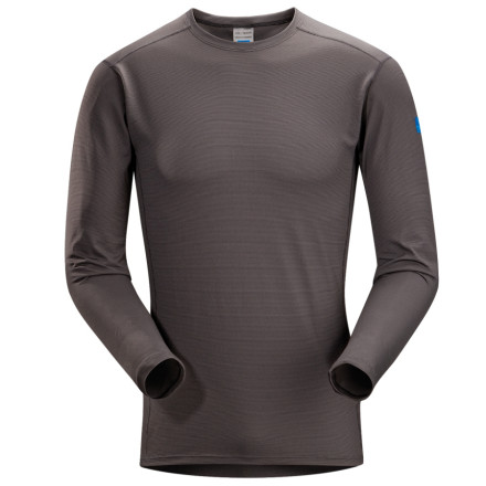 The Arc'teryx Phase SL Crew Long-Sleeve Shirt offers super lightweight moisture management for adventurers who like to play hard in the backcountry. - $41.27