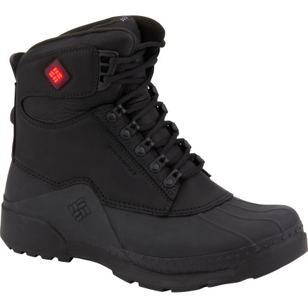 Sports Whether you're ice-fishing, watching football, or putting in hours at the job site in the dead of winter (ouch!), the Columbia Bugaboot Original Electric Boot has you covered. The Bugaboot has an onboard electric heater, so you can just dial in the amount of heat you need and feel great all day. The Omni-Heat Thermal Reflective liner reflects heat back onto your foot, too, so there isn't much cold weather that the Bugaboot can't tackle while providing comfortable warmth. - $164.97