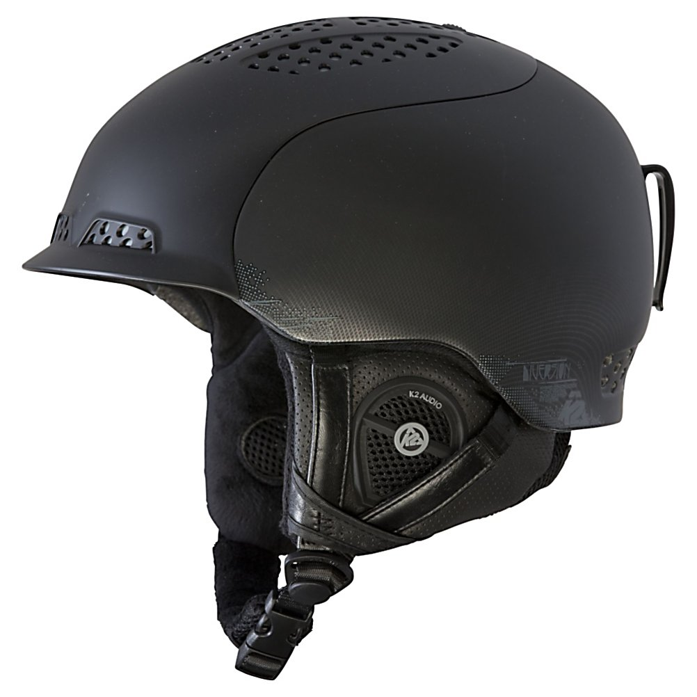 Ski K2 Diversion Audio Helmet 2013 - The K2 Diversion is a helmet that has everything you need in a helmet, and some things that you dont. The Dual Active Matrix Venting System will help you keep a cool head no matter what the temperature is. Just a simple flip of a switch will cool you down or warm you up. The Baseline 3 Audio System has integrated headphones and an on-cord mini mic that you can connect to you tunes and your cell phone. The K2 Dialed Fit of the Diversion makes sure that you get the fit dialed in perfectly for safety and comfort, and a removable/washable full wrap liner will keep your helmet fresh season after season. Features: SM (51-55cm) Med (55-59cm) L/XL (59-62cm). Shipping Restriction: This item is not available for shipment outside of the United States., Product ID: 273929, Model Year: 2013, Shell Construction: In Mold/Hard Shell, Year Round Capable: No, Custom Fit Adjustment: Yes, Ventilation: Adjustable, Brim/Visor: Yes, Audio: Comes With, Category: Half Shell, Race: No, Special Features: Level 3 Baseline Audio System, Gender: Mens, Warranty: One Year, Certifications: ASTM/CE - $159.95