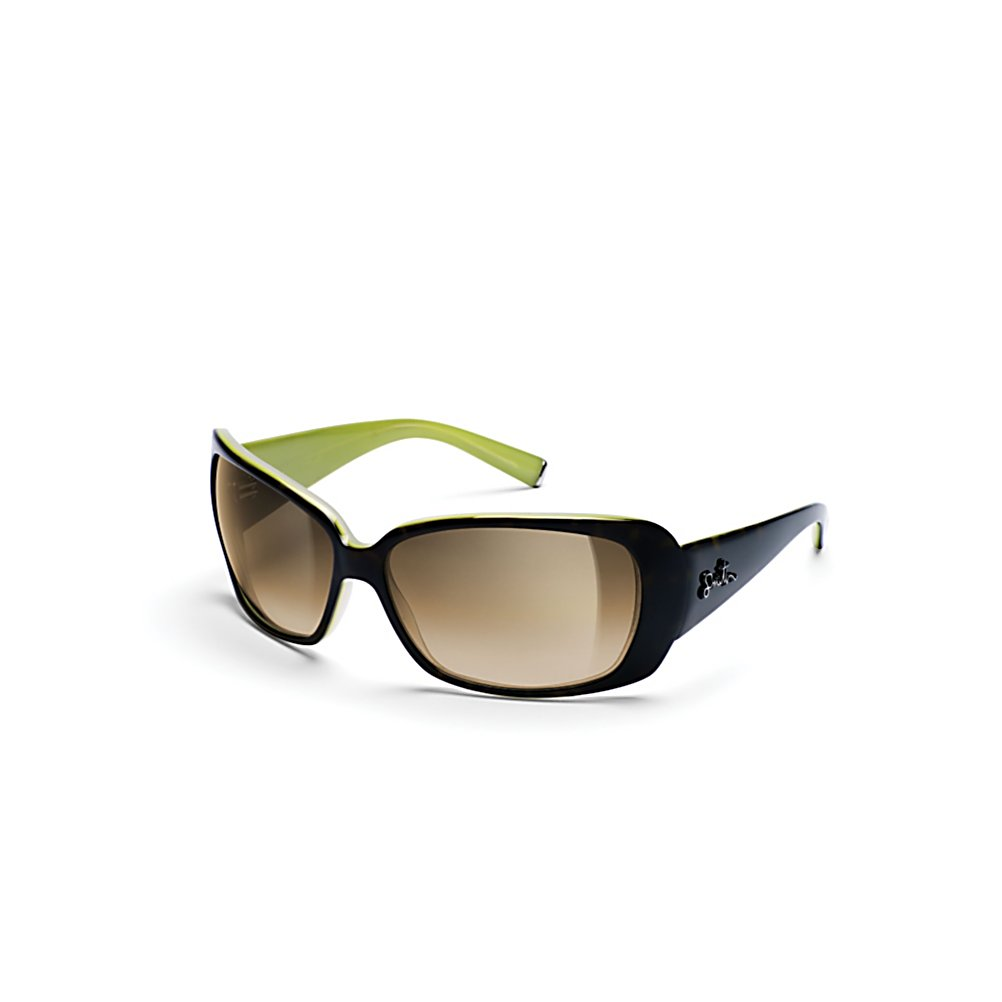 Ski Smith Shoreline Womens Sunglasses - The Shoreline is a fresh new sunglass for Spring that is sure to inspire those seeking the utmost in style. Accented by details such as a dual color handcrafted acetate frames, Smith script logo & metal temple tips, the Shoreline has all the particulars you have grown to expect from Smith's style. Optically correct TLT CR39 lenses provide 100% UVA/B/C protection while a medium fit guarantees lasting comfort. As always the Shoreline is backed by Smith's lifetime warranty. . Best Use: Fashion, Lens Material: Gradient Polycarbonate, Frame Material: Grilamid, Polarized: No, Photochromatic: No, Interchangable Lens: No, Additional Lenses: No, Gender: Women, Face Size: Medium, Nose Pads: No, Warranty: 1 Year, Model Year: 2010, Product ID: 161369, Frame Shape: Butterfly, Frame Material: Plastic, Polarized: No - $109.00