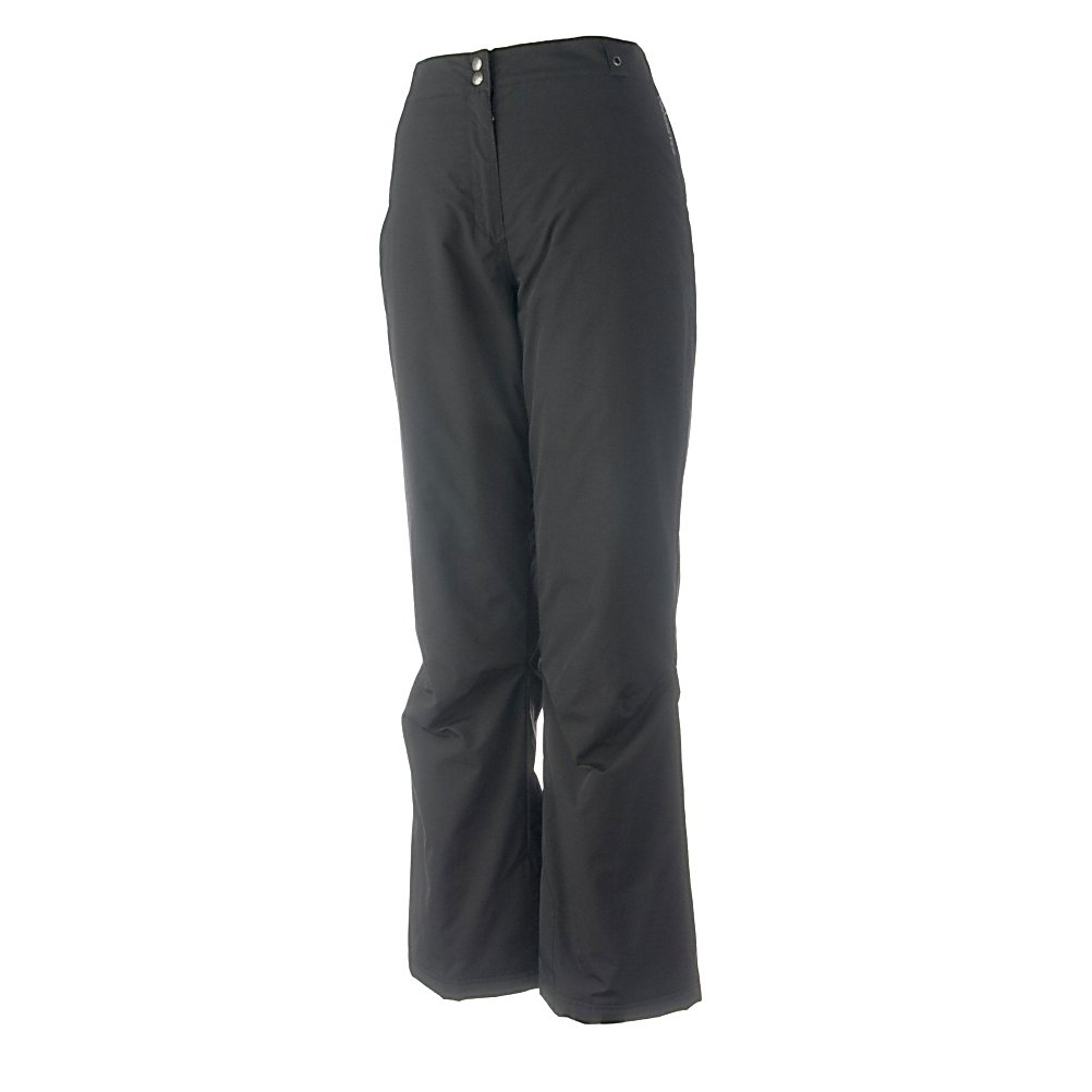 Ski Obermeyer Sugarbush Stretch Womens Ski Pants - The Obermeyer Sugarbush Ski Pants are a classic fit pair of comfortable, warm and cute pants that you could wear all day on the slopes and consider wearing out at night. It offers a soft Permaloft Needlepunch Insulation to keep your days on the slopes as comfy as possible. The lightweight insulation is water-resistant and adjusts to the body's position. With HydroBlock, you'll have a polyurethane coating that ensures that these Sugarbush pants are both waterproof and breathable so you can stay dry and warm even when the weather outside is chilly and snowy. Fashionable and fun, these pants have the features and quality you demand when you're on the mountain. Features: Zip Front Fly, Ski Pass Grommet. Exterior Material: Nylon with HydroBlock V, Softshell: No, Insulation Weight: 60 Grams, Taped Seams: Critically Taped, Waterproof Rating: 5,000mm, Breathability Rating: 5,000g, Full Zip Sides: No, Thigh Zip Venting: No, Suspenders: None, Bearing Grade: Performance, Articulated Knee: Yes, Low Rise: No, Warranty: Other, Race: No, Waterproof: Moderately Waterproof (5000mm-19,999mm), Breathability: Moderate Breathability (4000g-8999g), Use: Ski, Type: Insulated, Cut: Regular, Lining Material: Permaloft Needlepunch, Waist: Elastic, Pockets: 1-2, Model Year: 2012, Product ID: 235432, Model Number: 15109 09 12, GTIN: 0700599455426 - $99.95