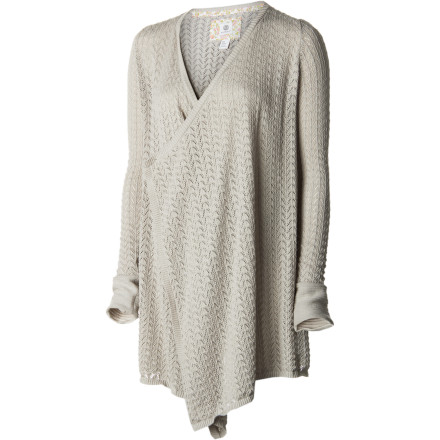 Skateboard Since it's going to take a while for the power to come back on after the ice storm, put on the Element Women's Relic Sweater and curl up on the couch in front of the fireplace. - $52.12
