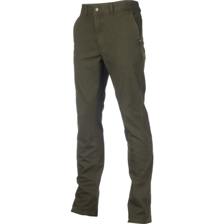 Skateboard Chris Cole designed the Omit trigger Pant with the same sturdy canvas material found in workwear and added a bit of stretch to keep things comfortable when skating. - $41.27