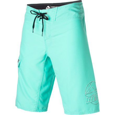 Surf The Reef Ponto Beach 2 Board Short features quick-drying and super-comfy microsuede Pro-Am material and a modern 22-inch outseam. Basic color blocking offers weary eyes a rest from all those crazy neon all-over prints out there. - $37.36