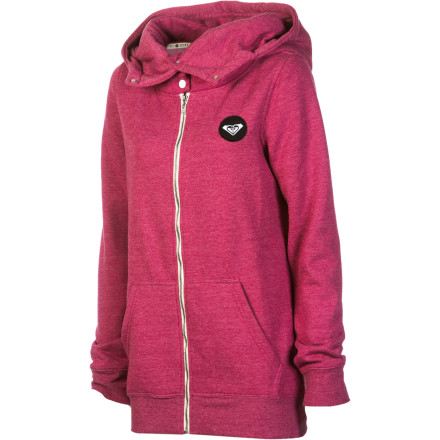 Surf Roxy Mammoth Pass Full-Zip Hoodie - Women's - $38.23