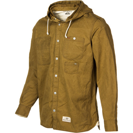 Skateboard Heavyweight shirt, or lightweight jacket It's up to you to decide with the Vans Bolinas Men's Jacket. Wear it as a shirt on crisp days or with a layer underneath when temps dip at night. - $62.62