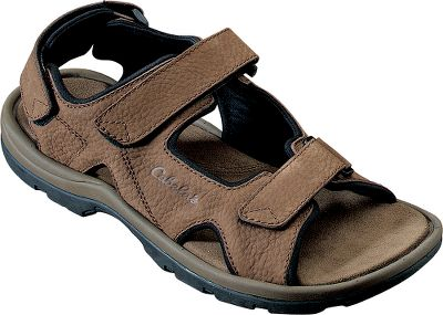 Entertainment We guarantee youll love the freedom, comfort and great looks these versatile sandals provide for many more summers to come. Sandals feature quality nubuck leather uppers, a Serdia anti-odor treated non-woven footbed cover, a supportive molded EVA midsole and sturdy rubber outsoles for traction on wet and dry surfaces. Lined with comfortable neoprene. Mens whole sizes: 8-14 medium width. Color: Brown. Size: 8. Color: Brown. Gender: Male. Age Group: Adult. Material: Leather. - $34.66