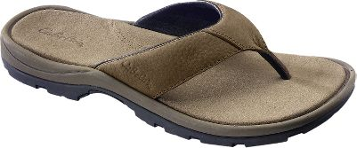 Entertainment Keep your feet cool and comfortable while you enjoy fun in the summer sun. The Thongs feature quality nubuck leather uppers, a Serdia anti-odor treated non-woven footbed cover, a supportive molded EVA midsole and sturdy rubber outsoles for traction on wet and dry surfaces. Smooth pigskin lining. Mens whole sizes: 8-14 medium width. Color: Brown. Size: 9. Color: Brown. Gender: Male. Age Group: Adult. Material: Leather. - $34.88