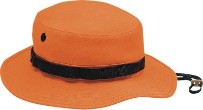 Hunting This comfortable, functional bucket-design hat style had its origins in the military. Made of soft poly/cotton twill (Blaze Orange is 100% acrylic), its perfect for all-around outdoor use. Webbing surrounds the ventilated crown, and it has an adjustable fabric chin strap. Hand wash only. Imported. Sizes: S-2XL. Camo patterns: Blaze Orange, Seclusion 3D, Mossy Oak Break-Up Infinity, Realtree MAX-4, Seclusion 3D Open Country, Mossy Oak Duck Blind, Realtree AP, Realtree APG, Mossy Oak Treestand. Type: Hats. Size: Small. Camo Pattern: MOSSY OAK TREESTAND. Size Small. Color Mossy Oak Treestand. - $5.88