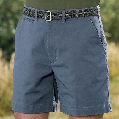 Cabelas Mens 7 Side-Elastic Flat-Front Shorts are classic, good-looking shorts of this quality are seldom this affordable. These 100% cotton twill shorts have a super-soft feel and a classic weathered look that will doom your others to a life in the back of the closet. Outfitted with a side-elastic waistband that moves with you, they also include two button-through rear pockets, two front slash pockets, a durable YKK-zippered fly and a front button closure. Imported. Inseam: 7. Even waist sizes: 30-52. Colors: Dark Khaki, Birch, Olive, Desert, Dark Blue. Size: 42. Color: Olive. Gender: Male. Age Group: Adult. Material: Cotton. Type: Shorts. - $14.88