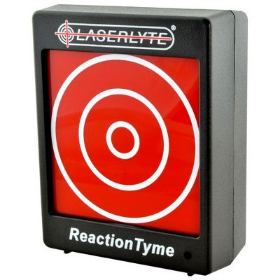 Hunting Conduct firearm-training scenarios without using costly ammo. This interactive target system comes with two targets that are compatible with LaserLyte Laser Trainer. Each target has a 2.5 shooting ring. When an accurate hit is made, the targets beep and flash. Vary your techniques with two modes reaction mode with varying time intervals of random LED signals, or training mode to practice trigger control and accuracy. Uses three AAA batteries (included). Dimensions: 3.75H x 3W x 1.3D. - $89.88