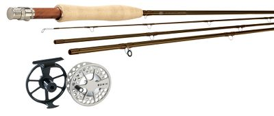 Flyfishing Save when you buy the Winston Passport fly rod with a Lamson KonicII reel. Each combo includes Scientific Anglers GPX WF Floating Fly Line (a $74.95 value) and backing.In more than 80 years of designing fly rods, R.L. Winston has learned a thing or two about what it takes to transform something great into something exceptional. Such is the case with the Passport series. This is the best value in Winstons lineup. Light in the hand, they have a powerful, yet forgiving fast action that is ideal for beginners who want to cast farther and experienced casters who want to perform at their peak. Cosmetics, quality of components and casting performance all add up to a rod that will please the most critical angler. Includes Cordura nylon rod tube. Backed by Winstons Unconditional Lifetime Guarantee. Designed in Twin Bridges, Montana. Lamson delivers smart design and high performance in these affordable KonicII fly reels. Extremely durable with a smooth contrasting finish, theyre pressure-cast, anodized and then coated with 100% solid polyurethane for scratch and corrosion resistance. Fitted with a super-smooth, sealed conical drag.Images depict the style of the rod handle and may not fully represent the actual length. Type: Freshwater Fly Combos. Rod Model: 1090-4*. Reel Model: 4. Pieces: 4. Line Weight: 10. Length: 9'. Handle: B. Backing Capacity: 240 yds./30 lb.. Combo Passport 1090 Konic. - $343.99