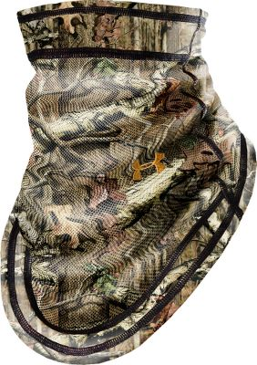 Hunting Quiet, moisture-wicking HeatGear four-way stretch fab ric. Mask has a lightweight mesh front for optimal concealment. One size fits most. Imported. Camo patterns: Realtree AP , Mossy Oak Break-Up Infinity . - $19.99