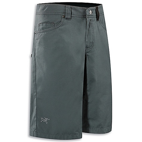 Hunting Free Shipping. Arcteryx Men's Spotter Long Short DECENT FEATURES of the Arcteryx Men's Spotter Long Short New fabric, refined style Natural fibre with comfort stretch Articulated knees, gusseted crotch Climber's brush loop webbing loop details Embroidered BIRD logo We are not able to ship Arcteryx products outside the US because of that other thing. We are not able to ship Arcteryx products outside the US because of that other thing. We are not able to ship Arcteryx products outside the US because of that other thing. We are not able to ship Arcteryx products outside the US because of that other thing. The SPECS Weight: M: 13.4 oz / 380.8 g Fit: Athletic Fabric: 8.5 oz Cotton Canvas - 99% cotton, 1% spandex canvas This product can only be shipped within the United States. Please don't hate us. - $88.95