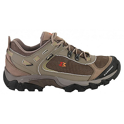 Camp and Hike Free Shipping. Garmont Men's Zenith Trail GTX Shoe The SPECS for Upper Weight: 1/2 per pair: 520 gram 1.6 mm water repellent Nubuk and abrasion resistant mesh Web Lock Heel closure system Toe Rand and rubber toe bumper for added protection ADD construction for instant fit with minimal break-in PU foot-bed for breathability and moisture management Gore-Tex lining The SPECS for Sole PU Stabilizing perimeter cradles and supports heel for stablity EVA Comfort core Garmont TPU Spine system provides midfoot support and improved flex Vibram Morlin Hike outsole offers stability and grip on varying terrains - $159.95