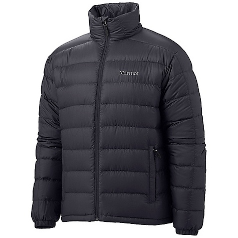 On Sale. Free Shipping. Marmot Men's Zeus Jacket DECENT FEATURES of the Marmot Men's Zeus Jacket Ultra Light Down Proof Fabric 800 Fill Power Goose Down Zippered Hand Pockets Packs into Pocket Wind Flap Behind Front Zipper Elastic Draw Cord Hem Angel-Wing Movement The SPECS Weight: 14.8 oz / 419.6 g Center Back Length: 27.25in. Fit: Regular Fit Material: 100% Polyester DWR Bantam Ripstop 1.1 oz/yd - $138.99