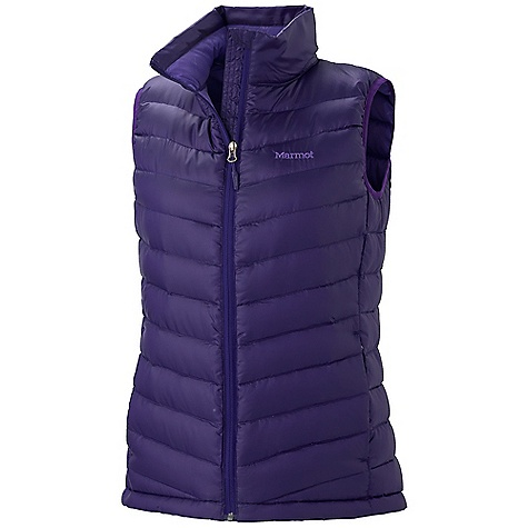 On Sale. Free Shipping. Marmot Women's Venus Vest DECENT FEATURES of the Marmot Women's Venus Vest Ultralight Down-proof Fabric 800 Fill Power Goose Down Zippered Hand Pockets Elastic Draw Cord Hem Packs into Pocket Updated with New Quilt Pattern The SPECS Weight: 9.4 oz / 266 g Center Back Length: Medium: 24 1/2in. Materials: 100% Polyester DWR Ripstop 1.2 oz/yd, Lining: 100% Polyester Embossed WR 1.8 oz/yd - $109.99